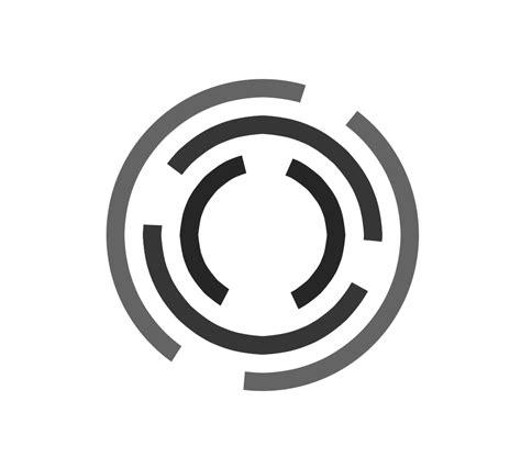 logo template spiral circle logo template psd onlygfx
