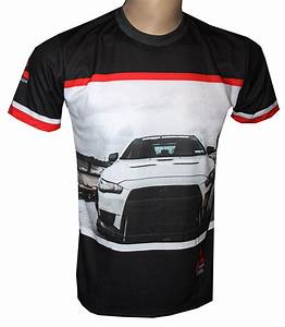 Morlock Motors T Shirt : mitsubishi t shirt with logo and all over printed picture ~ Kayakingforconservation.com Haus und Dekorationen