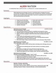 Best account manager resume example livecareer for Account manager resume example