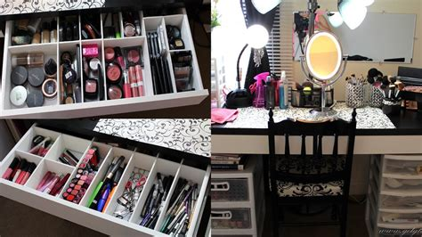 Makeup Collection/storage & Vanity Tour 2013