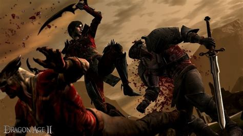 dragon age rogue fighting origins ii inquisition qunari game shadow rogues build bioware female assassin skill fanpop announces combating megagames