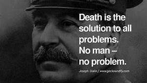 Joseph Stalin F... Famous Quotes