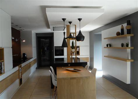 faux plafond cuisine professionnelle une cuisine un amour de maison stephane lapouble architecte d 39 interieur decorateur d