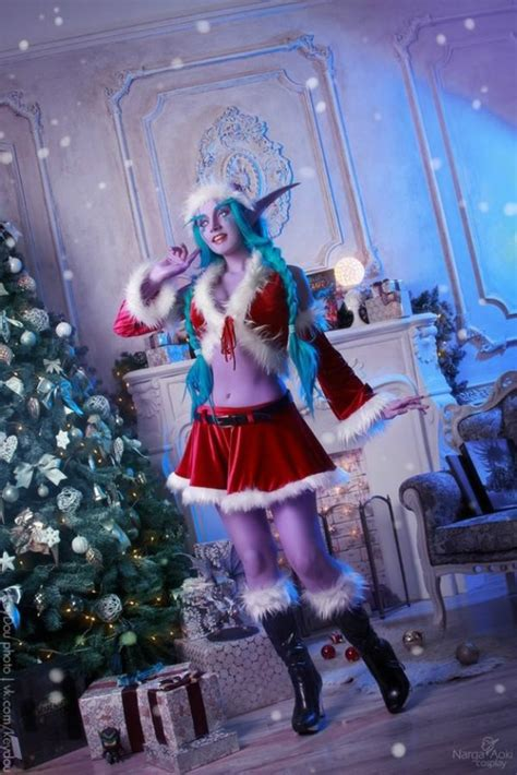 sexy night elf cosplay  wow