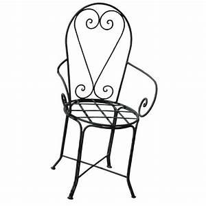 Chaise Fer Forgé : chaise en fer forg du maroc chaise bras design ~ Teatrodelosmanantiales.com Idées de Décoration