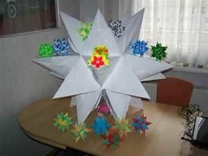 Bascetta Stern Anleitung : bascetta stern origami weihnachtsstern video inkl anleitung 3d 80cm hoch ~ Frokenaadalensverden.com Haus und Dekorationen