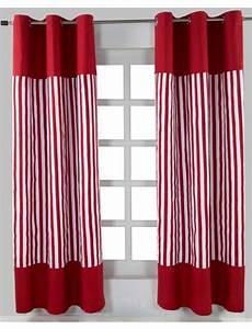 ösen Gardinen Selber Nähen : die besten 25 gardinen rot ideen auf pinterest vorhang ~ Michelbontemps.com Haus und Dekorationen