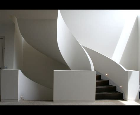 bathrooms pictures for decorating ideas geometric curved stair with curved wall balustrade