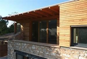 Construction Maison En Pierre : extension maison ancienne extension bois surelevation ~ Melissatoandfro.com Idées de Décoration