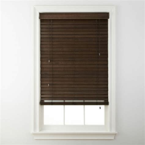 Privacy Blinds by 2 Quot Wood Horizontal Privacy Blinds 4 Colors Free Shipping