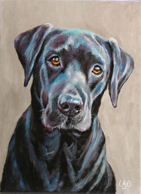 custom pet portrait   stretched canvas