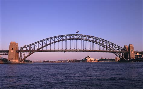 tropical themed free stock photo of architectural harbour bridge at sydney