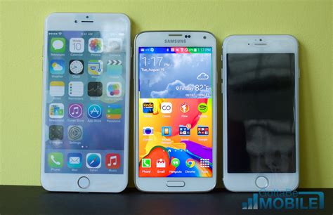 iphone 6 vs galaxy s5 iphone 6 vs galaxy note 4 release rumor breakdown
