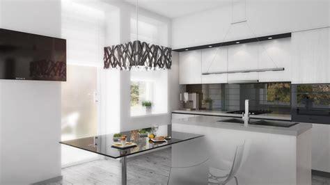 white kitchen cabinets with black island cómo decorar un espacio con estilo minimalista 7 pasos