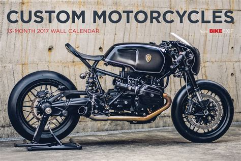 Bike Exif Custom Motorcycle Calendar 2017