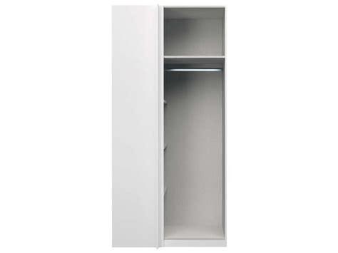 caisson d angle absolu coloris blanc vente de dressing conforama