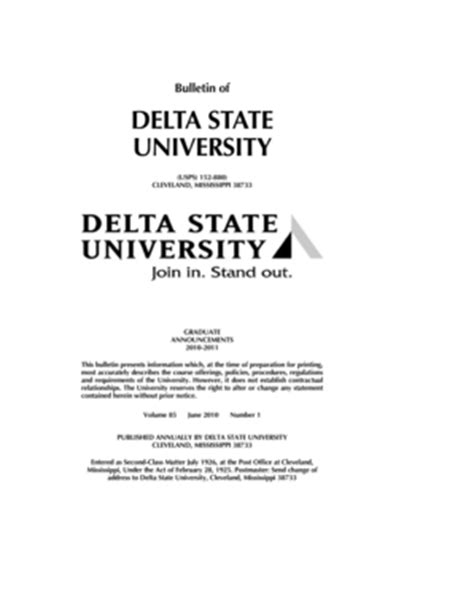 Graduate Election Form 18 Online by Fillable Online Deltastate Qxp 3 30 2010 10 18 Am Page 1