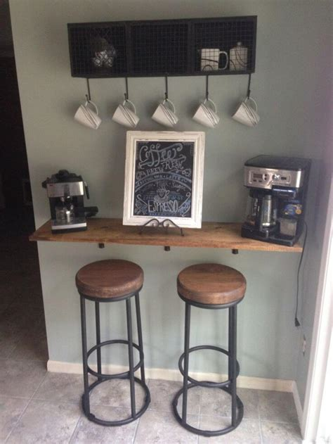 The kitchen coffee bar pictures on this page are so cute and so easy to recreate in your kitchen. 30+ Best Home Coffee Bar Ideas for All Coffee Lovers