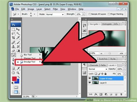 how to colors in photoshop how to blend colors in photoshop with pictures wikihow