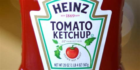 Here is the true meaning of the number 57 on Heinz bottles ...