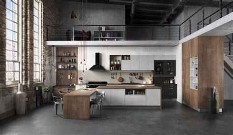 modeles cuisines contemporaines cuisine équipée ouverte esprit loft modèle harmonie