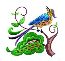 embroidery designs a birds paradise jf307 embroidery design