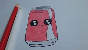 Como desenhar uma latinha de refrigerante Coca Cola YouTube