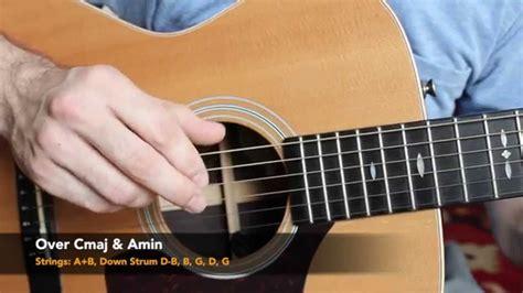 Acoustic Finger Style Guitar Lesson  Five Folk Finger