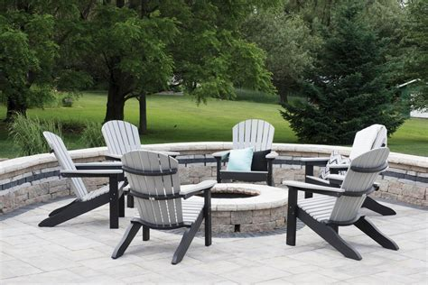 Best Of Adirondack Chairs Around Fire Pit Comfo Back