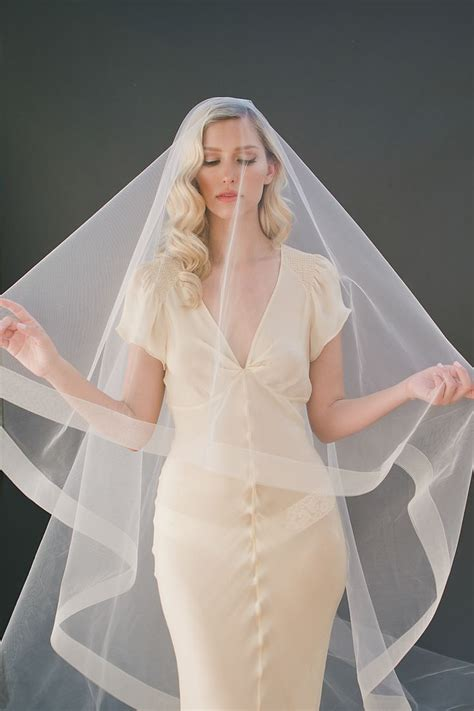 1000 Ideas About Cathedral Veil Hair On Pinterest Veil