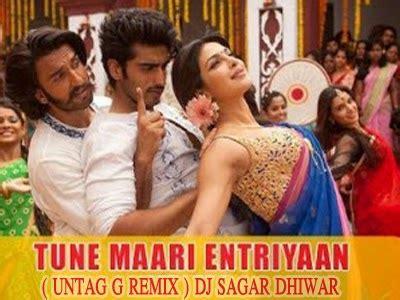 dj sagar dhiwar tune maari entriyaan untag  remix dj