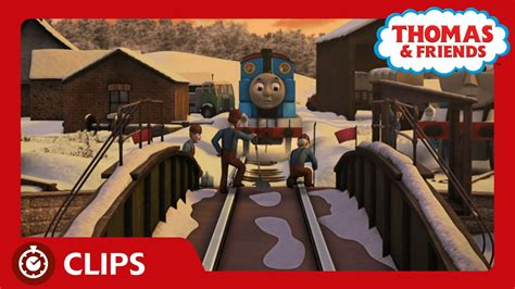 thomas friends the frozen turntable at tidmouth sheds