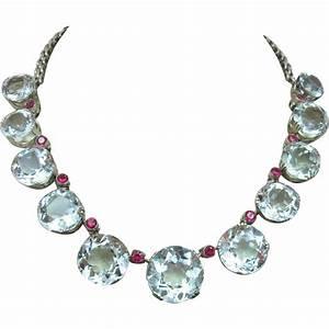 Antique Rare 168.81 carats Aquamarine Gemstone Sterling ...