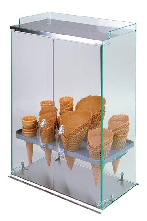 ice cream cone holder cabinet ice cream cone holders 10 row ice cream cone cabinet w
