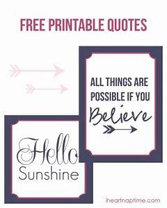 Printable Quote... Free Prints Quotes