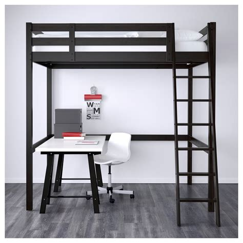 loft bed frame ikeas  small space items popsugar