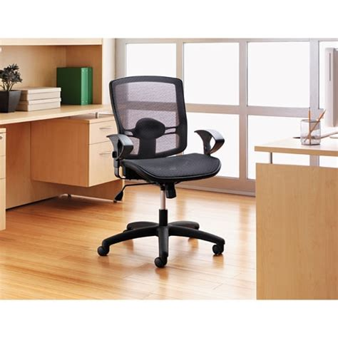 Alera Office Furniture Customer Service etros series suspension mesh mid back synchro tilt