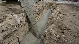 Trockenmauer Bauen Ohne Fundament : fundament f r die gartenmauer streifenfundament selber ~ Lizthompson.info Haus und Dekorationen