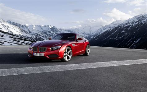 Bmw Z4 Backgrounds by Bmw Bmw Z4 Coupe Cars Mountain Wallpapers Hd