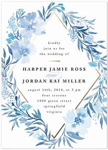 2017 pantone color of the year and your minted wedding With wedding invitation designs color blue