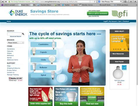 duk offers discounts for energy saving bulbs