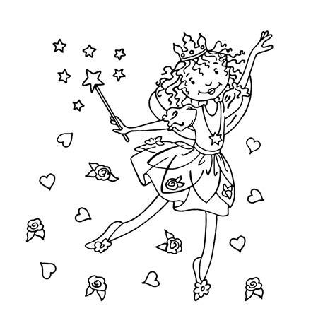 Gratis Kleurplaat Prinses by Lillifee Kleurplaten Kleurplatenpagina Nl Boordevol