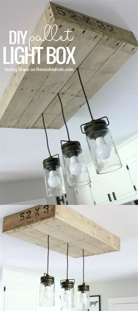 how to make a light box for pictures remodelaholic how to make a pallet wood light box