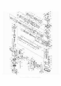 Makita Hr4010c Parts Diagram For Assembly 1