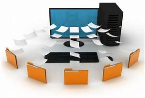 saving and safeguarding documents electronically With electronic document archiving system