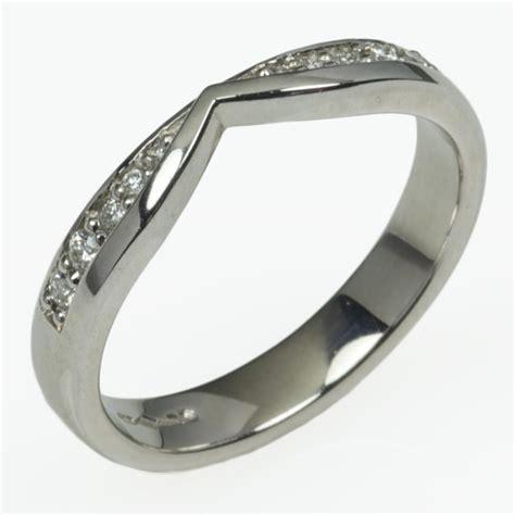 shaped wedding rings birmingham jewellery quarter birmingham jewellery quarter crystalink wedding rings