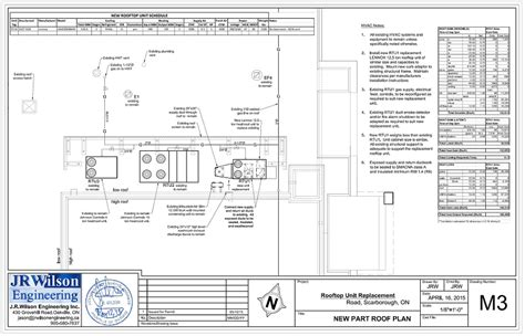 hvac plumbing drawings  calculations  commercial permit
