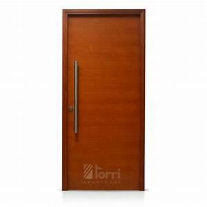 OFERTA! Puerta madera Oblak Modelo 1200 Cedro de 080 Aberturas Torri