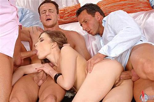 Party Members Fill Her Holes #Johane #Johanson #Gets #All #Her #Holes #Filled #With #A #Cock
