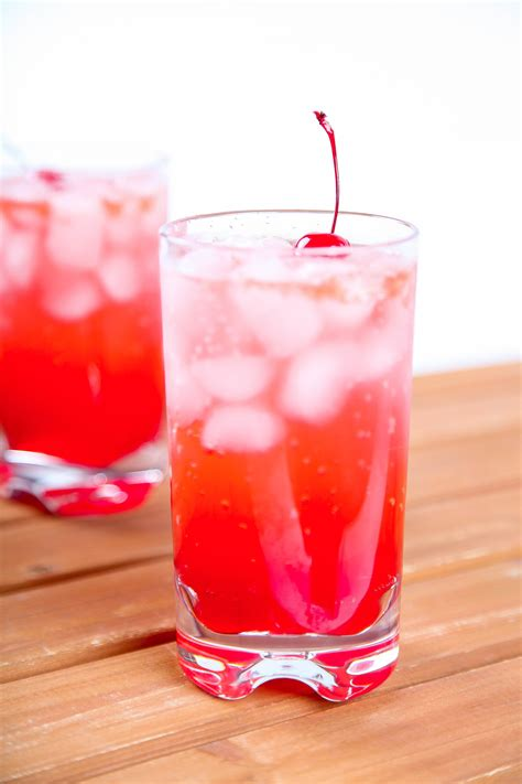 shirley temple drink shirley temple mocktail recipe baking beauty